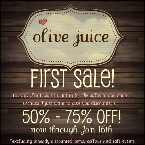 Olive Juice First Sale