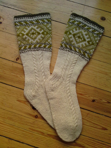 estonian handknitted socks