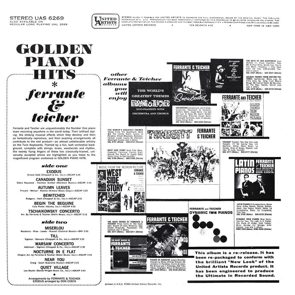 Ferrante & Teicher - Golden Piano Hits