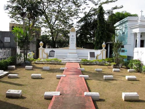 Burial Plot of Thomasites - Manila North Cemetery