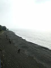 休息站的海邊