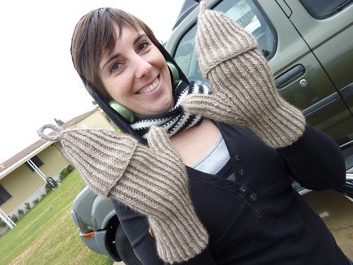 Mandy and her mittens