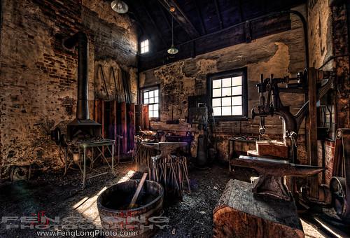 The Blacksmith's Workshop at Biltmore Estate HDR