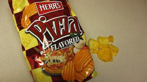 herr's pizza chips