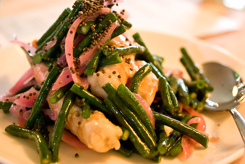 shrimp & bean salad
