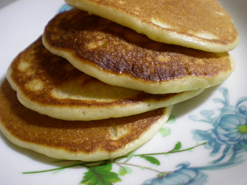 Melissa's banana pancakes 2