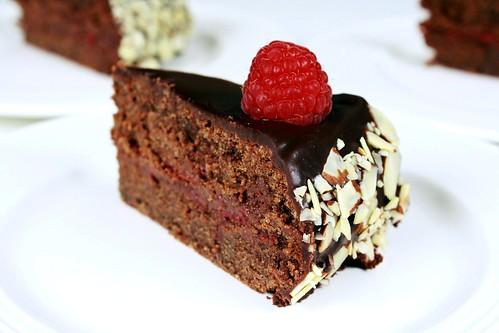 Gluten-Free Chocolate Raspberry Torte