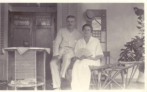 Op een Zondag morgen in juli 1919 in onze voorgalerij
