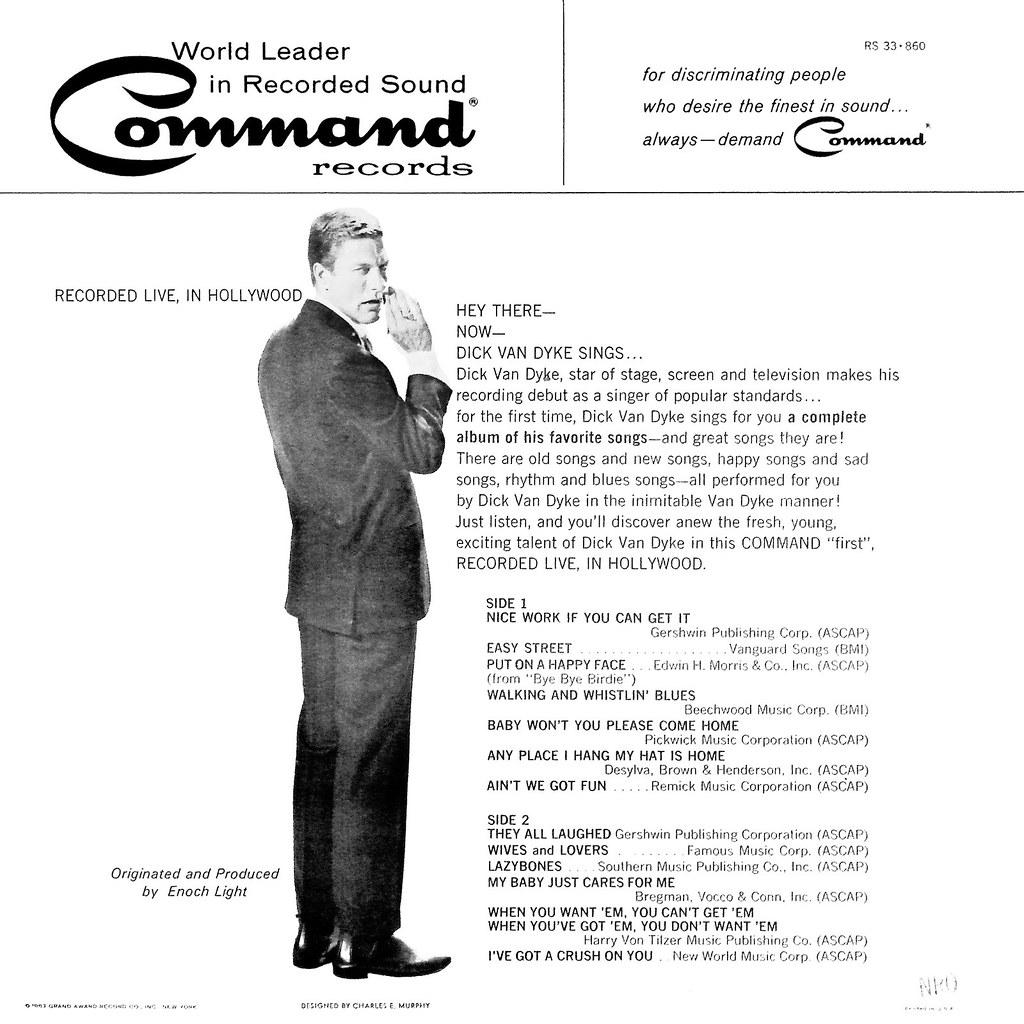 Dick Van Dyke - Songs I Like