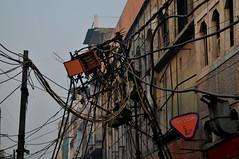 Delhi, estampa eléctrica.