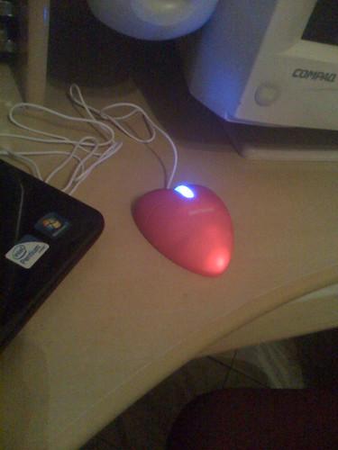 Um mouse gay, pr'a fazer uma nerd-patty feliz! =D