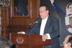 Reception for Muzaffar Ali