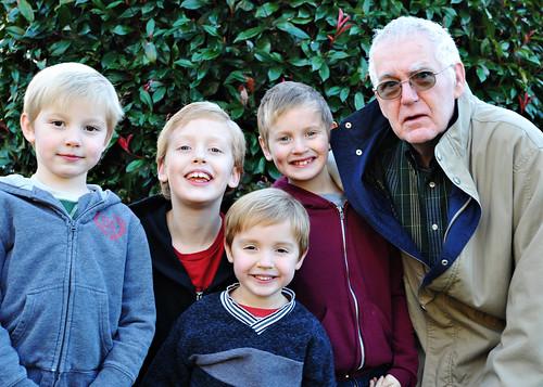 boys and grandpa 2010