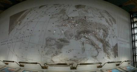 Panorama of the air war map