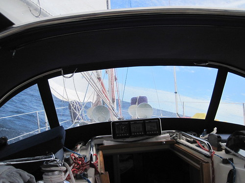 Sailing across the gulf stream