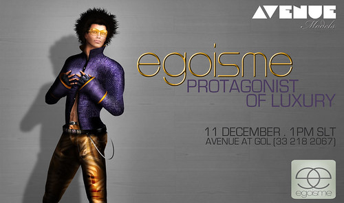 AVENUE Models :: Egoisme :: 11 Dec 2010 - 1pm SLT