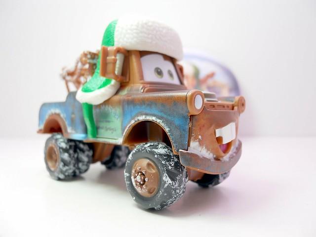 disney cars 2010 christmas WHEE HOO WINTER MATER (3)