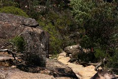 A Rocky Pathway in the Grampians, Victoria, Australia