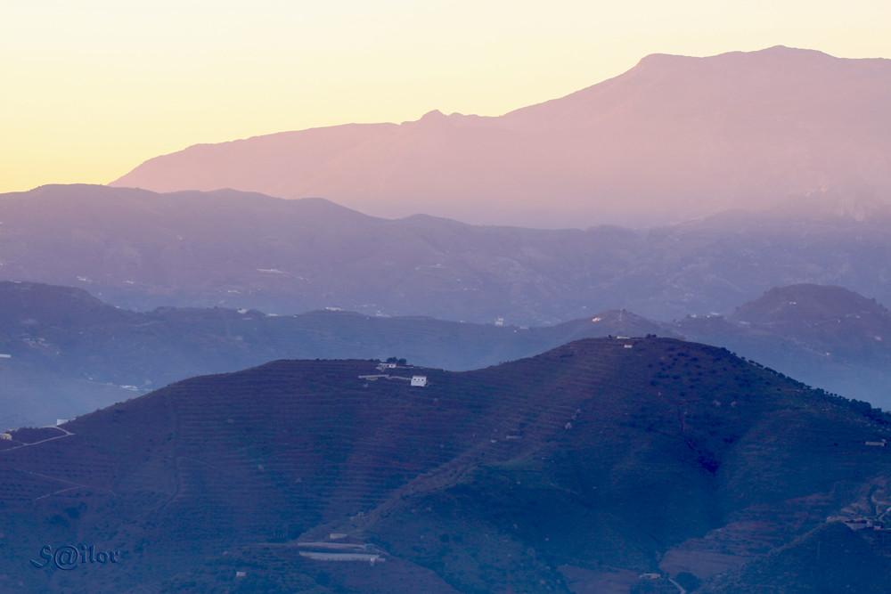 Ridges at Sunset
