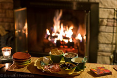 Appetizers by the Fire