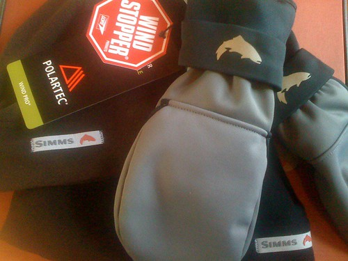 Simms Windstopper Gloves and Hats