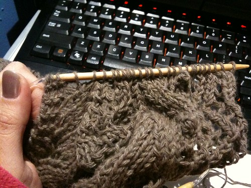 Crap! Out of yarn :(