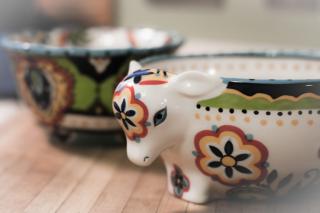 Day 363 ~ cow bowl