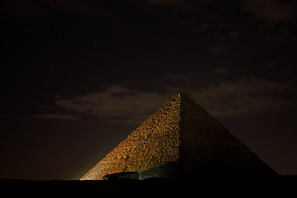 Starry Eternity (Giza - Egypt)
