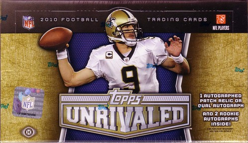 2010 Topps Unrivaled box