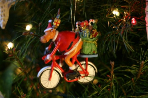 Bicycle reindeer