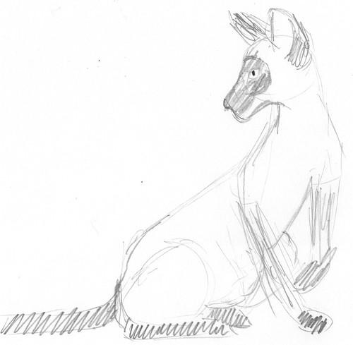 Pencilcast 2011-01-19 - Siamese cat # 2