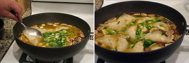 Cooking Wonton Soup