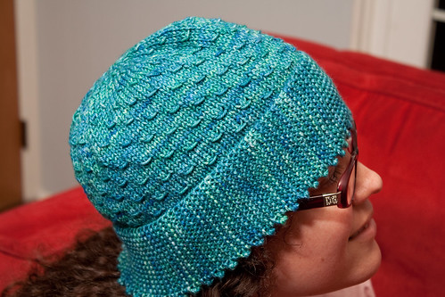 Picot Edge Hat (Side)