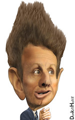 Timothy Geithner - Caricature