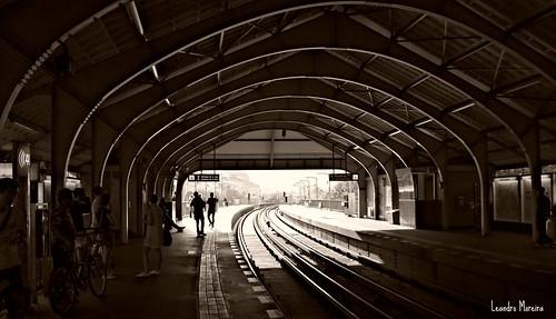 Metrô: velho, empoeirado, barulhento, mas eficiente