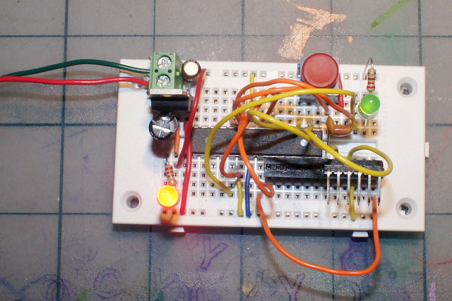 Breadboard Arduino Photo