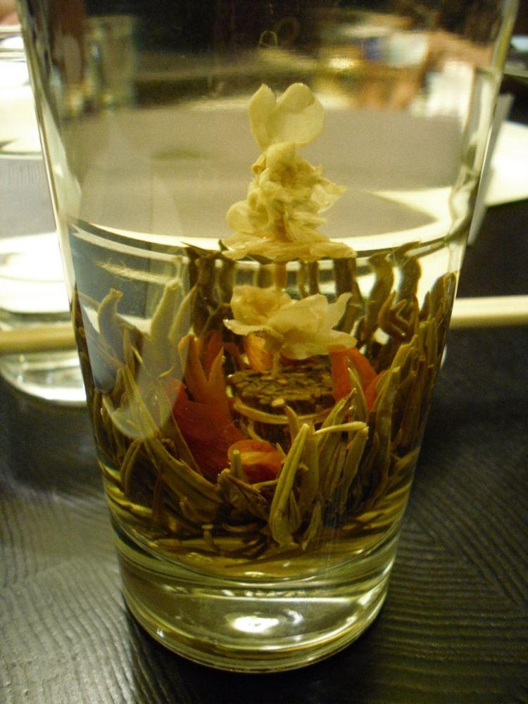 Flowering Jasmine Tea at Ping Pong