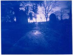 Blue boneyard