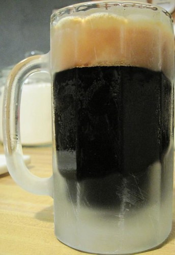 Nothing makes the world clear like darkest beer.