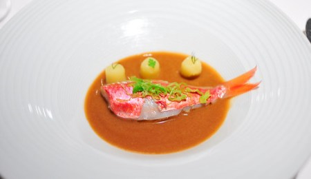 8th Course: Red Mullets