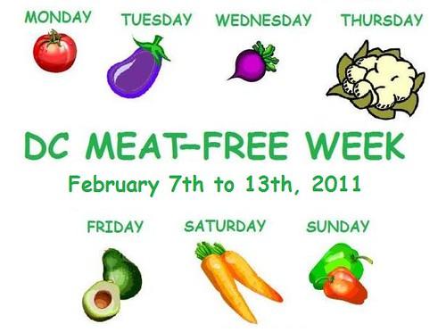 DC Meat-Free Week 2011