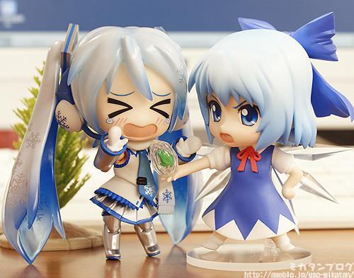 Nendoroid Snow Miku SPE and Nendoroid Cirno