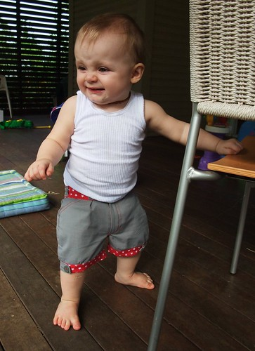 Little Star Upcycled Shorts - Action 5