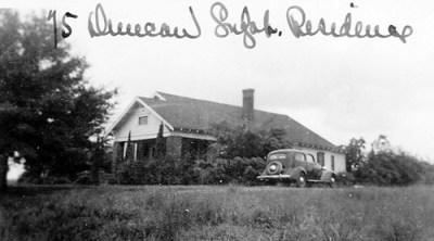Duncan Superintendent's Residence