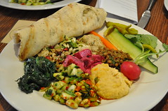 Mixed vegetable mezze