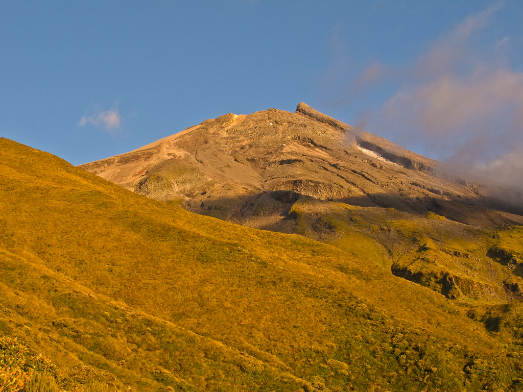 Taranaki in the morning light - II