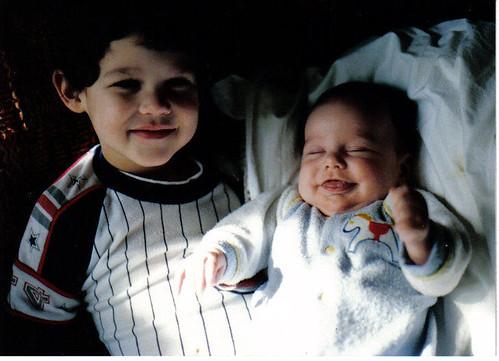 Baby David & Scott
