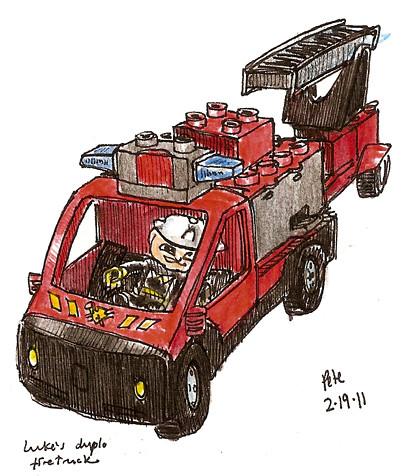 duplo firetruck