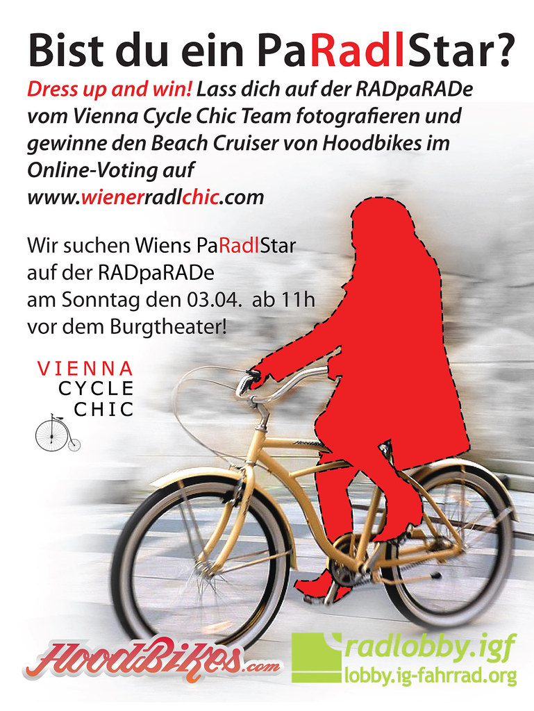 Bist du ein PaRadlStar? Are you the Cycle Chic RadPaRade Star?