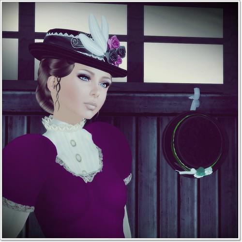 Hatpins - Lady Cora